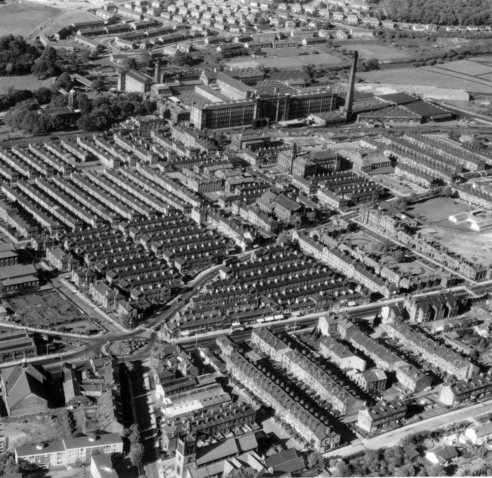 Aerial view Saltaire-A14664-C.H.Wood