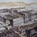 Artist's Impression Salts Mill And Saltaire