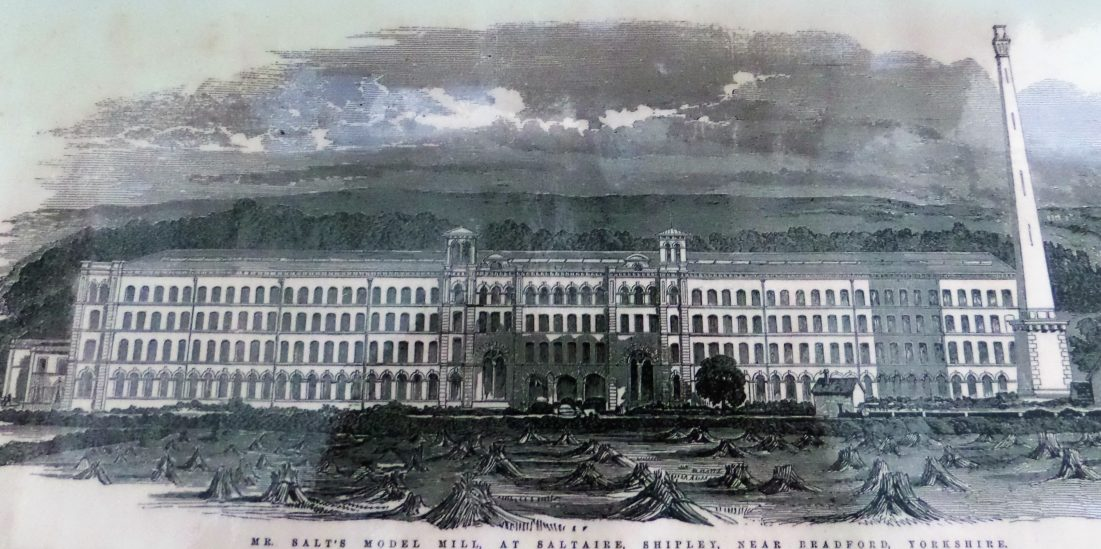 Early Artist's Impression Of Salts Mill