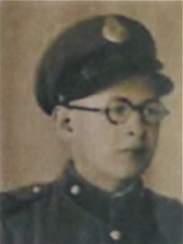 Feliks Czenkusz in Junaks Uniform 1939