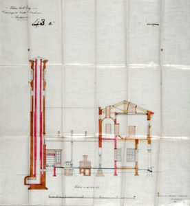 Plan of the Bath and Wash House Frontage