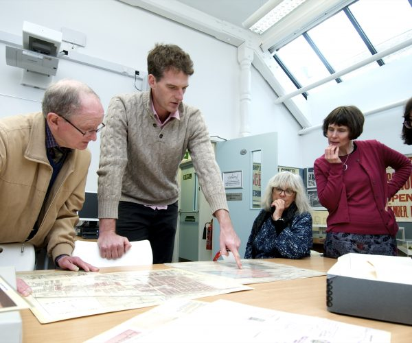 Dan Snow Visits The Saltaire Archive