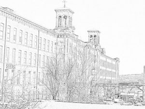 Colouring sheet for Salts Mill