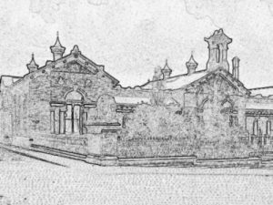 Colouring sheet of Saltaire School