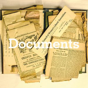 House Documents For 1, Fern Place (Saltaire Village, Documents (Places)) (C3b-215)