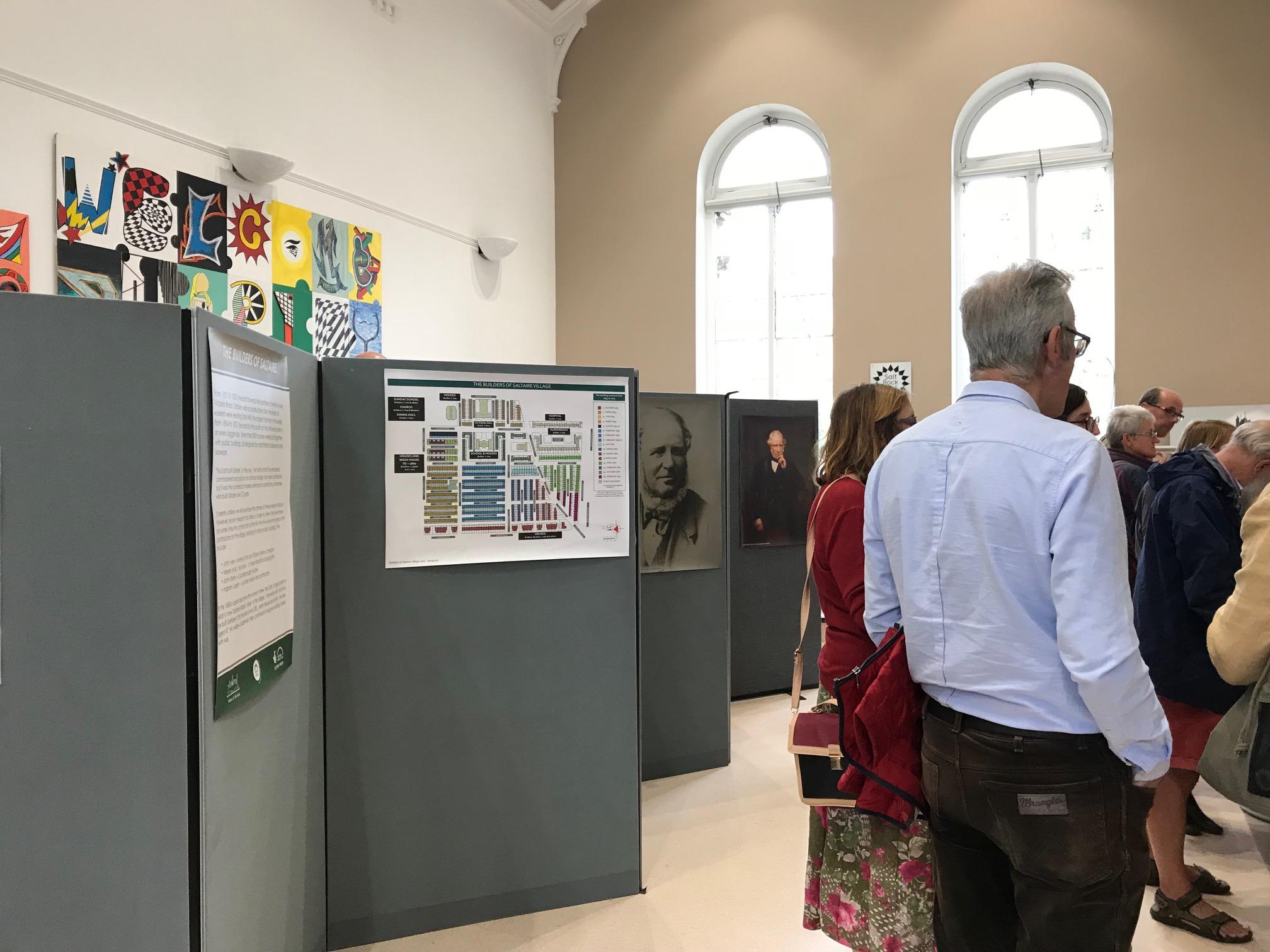 Saltaire's Hidden Heroes And Heroines Exhibition