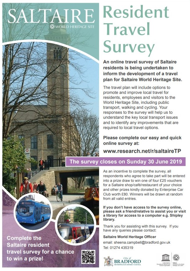 Transport Survey For Saltaire