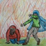 Creative Art And Writing Competition - Example Drawing By Lorna Manville
