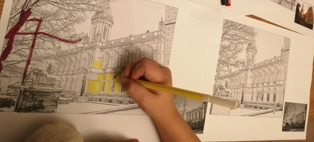 Colouring In Victoria Hall