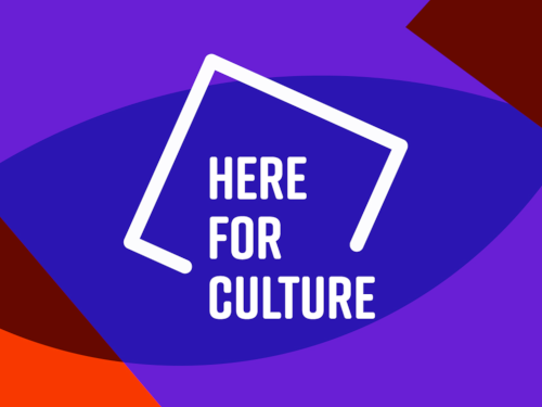 Here For Culture Logo