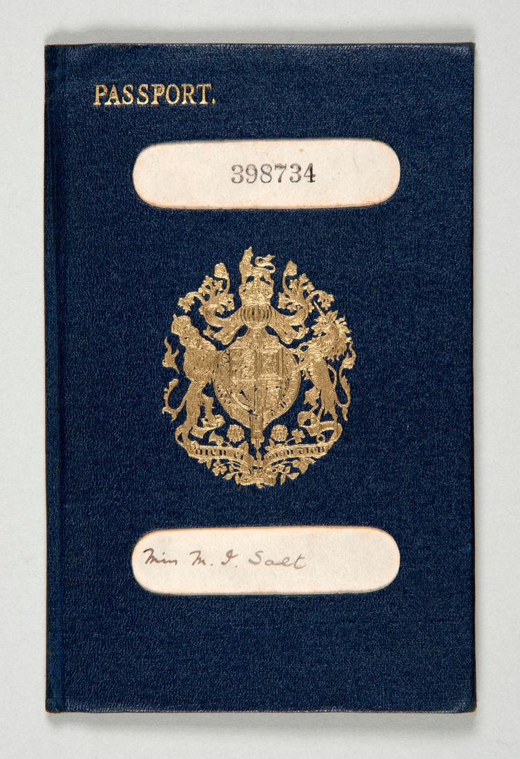 Isabel Salt's passport