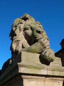 Saltaire Lion - Peace