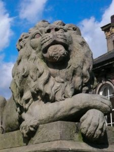 Saltaire Lion - Vigilance