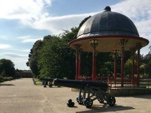 Roberts Park bandstand