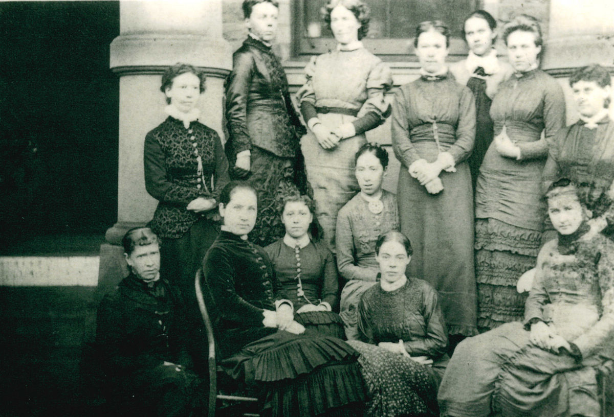 Salt Girls High School teachers in 1880