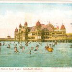 Saltair Beach USA Postcard