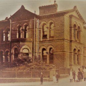 Sir Titus Salt Hospital In The Late 19th Century