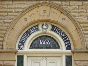 Door of Sir Titus Salt's Hospital