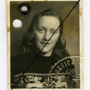 Theresa Schistal's Identity Card