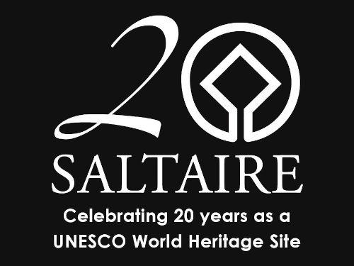World Heritage Site 20 years logo